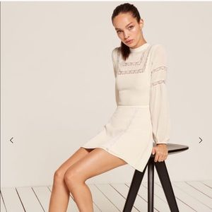 *BRAND NEW* Sachi Reformation Lace detail Dress